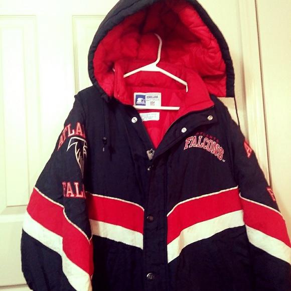 wholesale dealer bf7b9 f2b8c Vintage 90s NFL Atlanta Falcons Starter Jacket